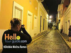 Old San Juan walking night tour